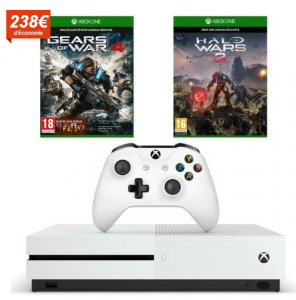 xbox one s Gears of War 4 Halo Wars 2